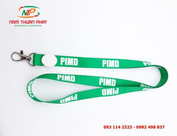 Dây đeo thẻ mẫu PIMD 1