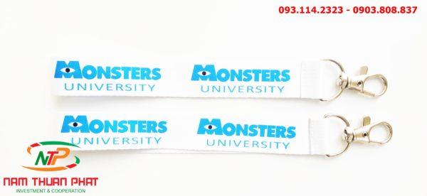 Dây đeo móc khóa Monster University 2