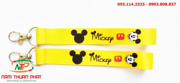 Dây đeo móc khóa Mickey v1 2