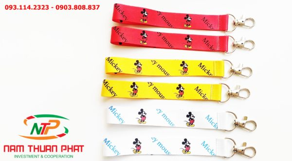 Dây đeo móc khóa Mickey v2 1