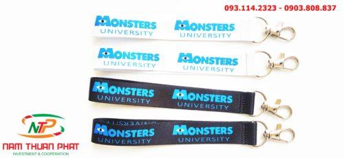 Dây đeo móc khóa Monster University 8