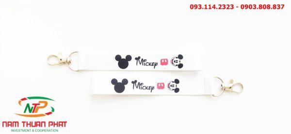 Dây đeo móc khóa Mickey v1 3
