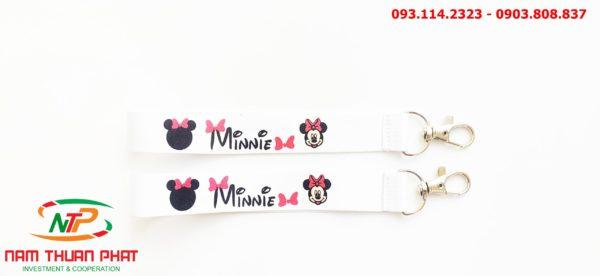 Dây đeo móc khóa Minnie 2