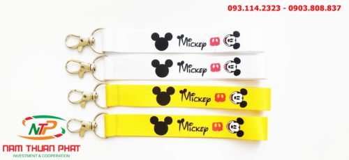 Dây đeo móc khóa Mickey v1 8