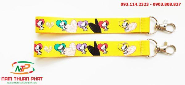 Dây đeo móc khóa Cún Snoopy 2 3