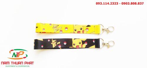 Dây đeo móc khóa Pikachu 8