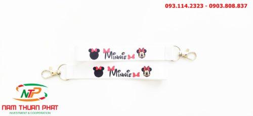 Dây đeo móc khóa Minnie 8