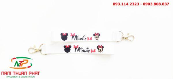 Dây đeo móc khóa Minnie 1
