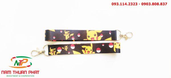 Dây đeo móc khóa Pikachu 3