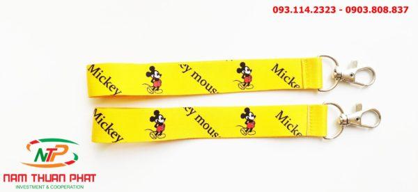 Dây đeo móc khóa Mickey v2 2