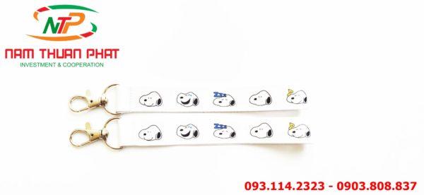 Dây đeo móc khóa Cún Snoopy 3 3