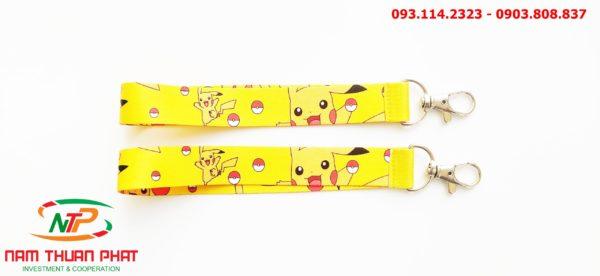 Dây đeo móc khóa Pikachu 2