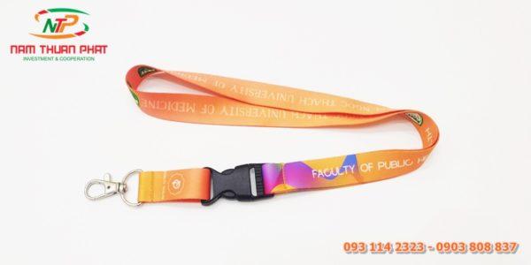 Dây đeo thẻ mẫu PNT University 1
