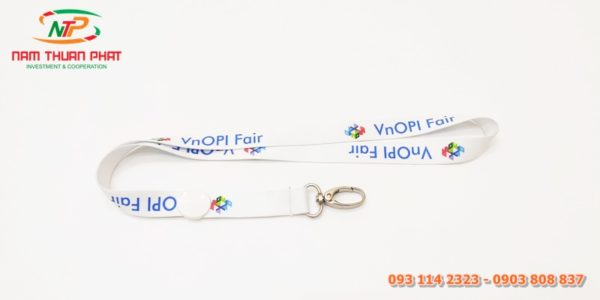 Dây đeo thẻ mẫu VnOPI Fair 1
