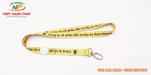 Dây đeo thẻ mẫu Rich Homes 3