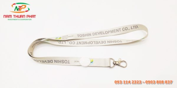 Dây đeo thẻ mẫu Tosin 1