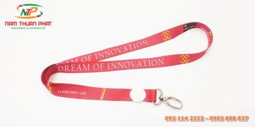 Dây đeo thẻ mẫu FPT University 3