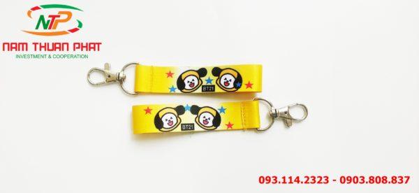 Dây đeo móc khóa Chimmy BT21 1