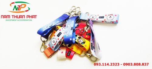 Dây đeo móc khóa Mang BT21 6