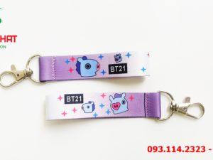 Dây đeo móc khóa Shiba Inu & milk 14