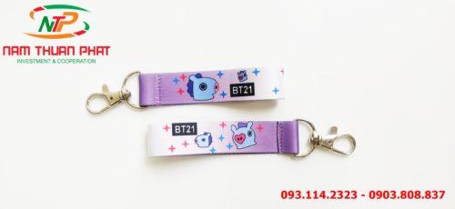 Dây đeo móc khóa Mang BT21 5