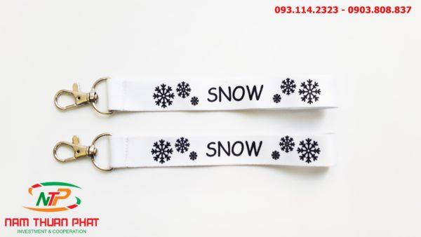 Dây đeo móc khóa Snow 2