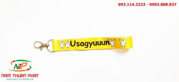 Dây đeo móc khóa Usagyuuun 4