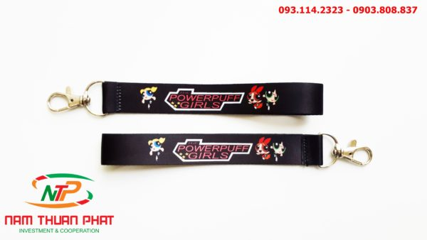 Dây đeo móc khóa Powerpuff girl 2