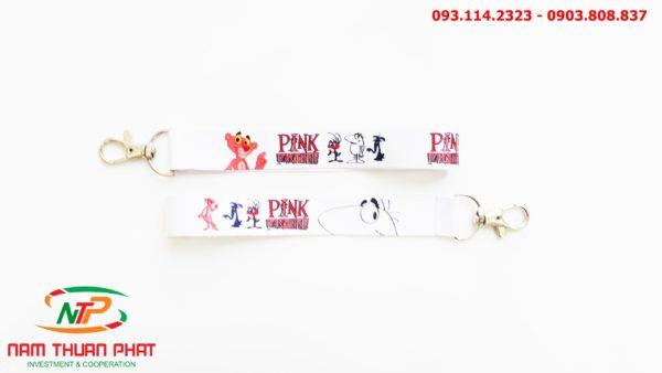 Dây đeo móc khóa Pink Panther 2