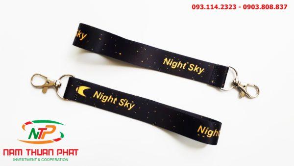 Dây đeo móc khóa Night sky 2