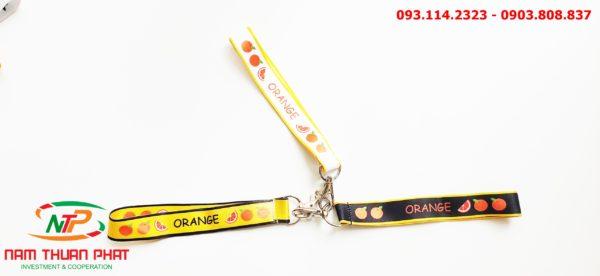 Dây đeo móc khóa Orange 5