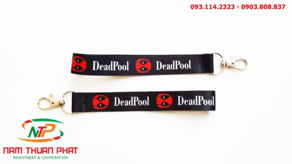 Dây đeo móc khóa Deadpool 3