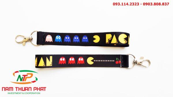 Dây đeo móc khóa Pacman 2