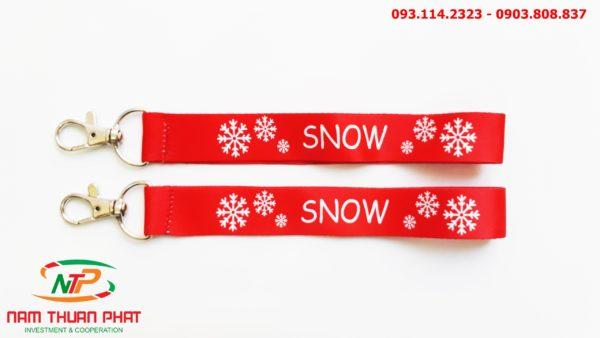 Dây đeo móc khóa Snow 4