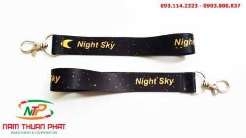 Dây đeo móc khóa Night sky 8