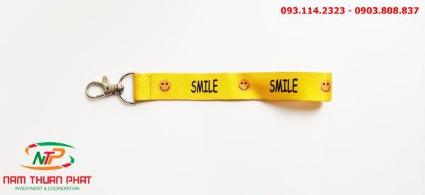Dây đeo móc khóa Smile 2