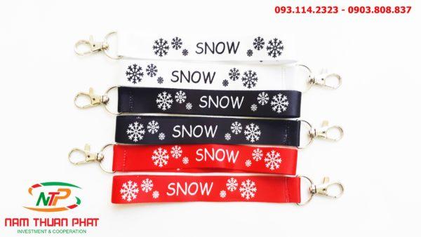 Dây đeo móc khóa Snow 1