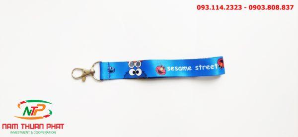 Dây đeo móc khóa Seasame street 4
