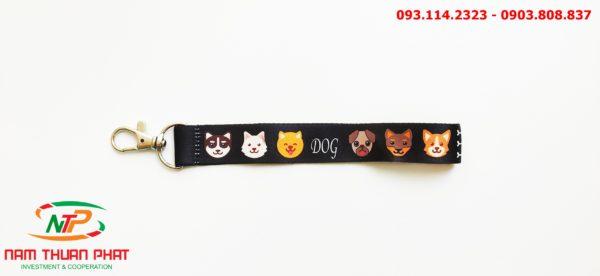 Dây đeo móc khóa Dog 2