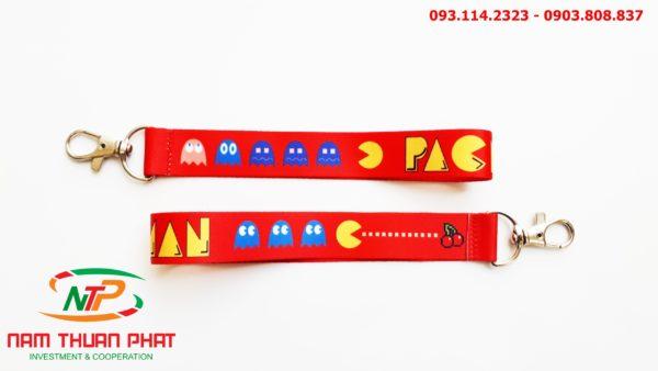 Dây đeo móc khóa Pacman 3