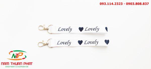 Dây đeo móc khóa Lovely 3