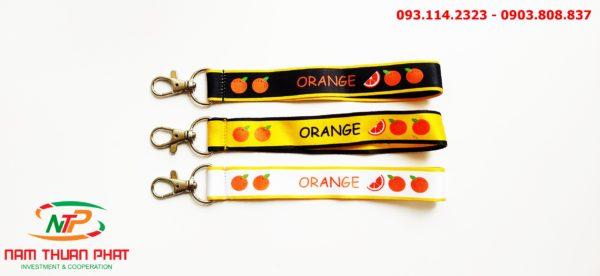 Dây đeo móc khóa Orange 1