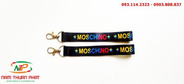 Dây đeo móc khóa Moschino 4