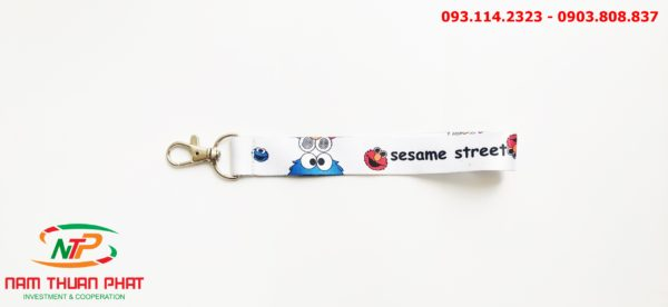 Dây đeo móc khóa Seasame street 3