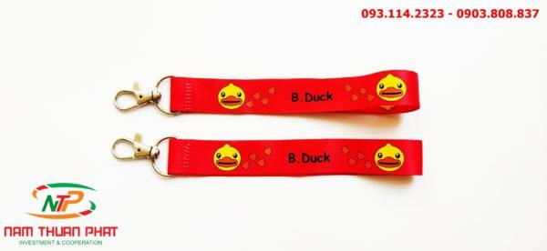 Dây đeo móc khóa B.Duck 4