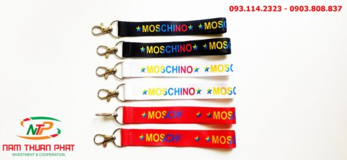 Dây đeo móc khóa Moschino 8