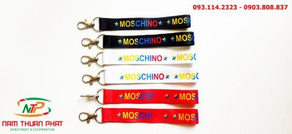 Dây đeo móc khóa Moschino 1