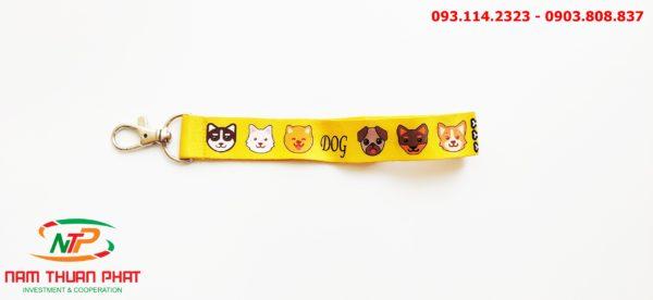 Dây đeo móc khóa Dog 4