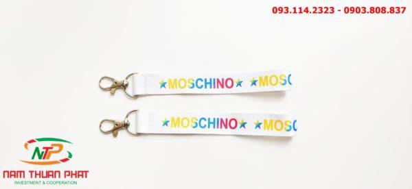 Dây đeo móc khóa Moschino 3