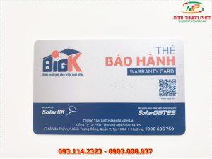 Thẻ nhân viên TD-013 8